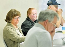 GARY ALLEN - Questions arise - A project by the St. Paul Rodeo Association to run water lines from its newly-dug well raised some debate at a City Council meeting last week. Councilor Rosemary Koch questioned what would be the short-term costs and long-term expectations from the city in association with the project.