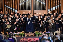 SUBMITTED PHOTO - Lake Grove Presbyterian Churchs Sanctuary Choir will present Unfailing Grace, a concert of favorite religious songs.