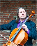 FILE PHOTO - Cellist Skip vonKunske's Groovy Wallpaper will perform Monday, June 8, at the Winery at McMenamins Edgefield, Troutdale.