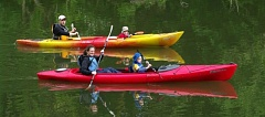 COURTESY TUALATIN RIVERKEEPERS  - Kayakers enjoy a relaxing paddle on the Tualatin River.