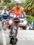 COURTESY: MARY SLANEY DECKER - Mary Slaney Deckers main mode of exercise is the ElliptiGO, and in recent years she has placed in the world championships of elliptical cycling.