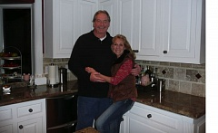 COURTESY: MARY SLANEY - Mary Slaney and husband Richard enjoy time in their home on the outskirts of Eugene.