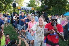 COURTESY PHOTOS - The summer outdoor concerts scene include fun for adults and kids