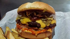 SUBMITTED PHOTO - This is what one of the Killer Burger specialty burgers looks like.