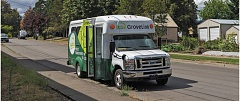 PAMPLIN MEDIA GROUP: CHASE ALLGOOD - TriMet could use part of the proposed payroll tax increase to help fund community shuttle bus operations, like GroveLink that is currently operating in Forest Grove.
