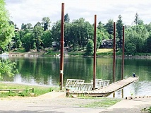 TIDINGS PHOTO: LESLIE PUGMIRE HOLE - The city was set to repair the 45-year old Cedaroak boat ramp back in 2014, but a permitting delay halted the process.
