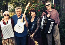 SUBMITTED PHOTO - Bodacious is one of the musical groups that will be featured during Beavertons First Friday activities on July 3; Bodacious will perform under the canopy at Beaverton Florists on Second and Watson.
