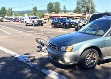 SUBMITTED - Police are investigating a crash at Walnut Street and Pacific Highway that reportedly killed one person.