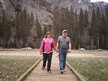 CONTRIBUTED PHOTO - Charlotte Painter enjoys the outdoors with her husband Garry. In retirement, she hopes to do a lot more of it.