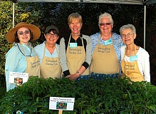 DAVID F. ASHTON - Eastmoreland Garden Club Unit #1 Mothers Day Plant Sale organizers Elspeth Tanguay-Koo, Sande Greenwald, Sally Campbell, Judy Battles, and Judy Hayward say theyre ready for the customers!