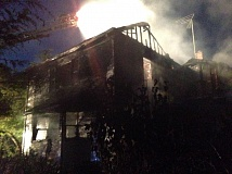 TUALATIN VALLEY FIRE & RESCUE - Fire caused heavy damage to this home in the Bethany area early Sunday.