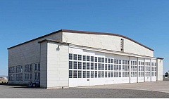HOLLY M. GILL - The north hangar at the Madras Municipal Airport, built in 1943, has beennamed to the National Register of Historic Places.