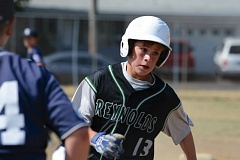 THE OUTLOOK: DAVID BALL - Reynolds Dawson Coder heads into third base on his way to a run in the third inning of Wednesdays 18-6 win over SE Portland.