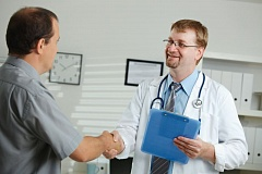 GOOGLE IMAGES - Men should make it a habit to see their doctor on a regular basis.