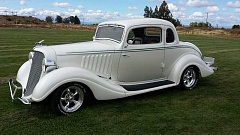 CONTRIBUTED PHOTO - This 1934 Hudson Terraplane often earns awards for its owner, Crook County Rodders Car Club president Tom Tomlinson.