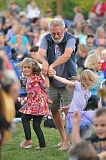 PHOTO COURTESY OF PORTLAND REIGN PHOTOGRAPHY - Concertgoers get up and dance during a past Rotary Summer Concert.
