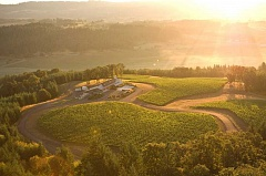 SUBMITTED PHOTO  - Enjoy the views of the Willamette Valley from Penner-Ash Wine Cellars during special benefit concerts in August.