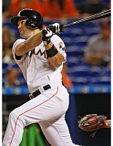 COURTESY: DENIS BANCROFT/MIAMI MARLINS - Cole Gillespie, from Oregon State and West Linn High, took advantage of a big-league opportunity that arose when Miami Marlins star Giancarlo Stanton suffered an injury this season.