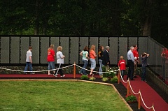 SUBMITTED PHOTO - The Moving Wall visits Camden, Tenn., in 2011.