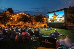 COURTESY PHOTO - Check off outdoor movies on the summer to-do list at McMenamins Grand Lodge.