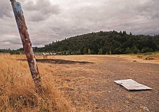 OUTLOOK PHOTO: JOSH KULLA - This 10.6-acre property at the base of Jenne Butte was annexed this week into the city of Gresham. The owner of the land told the Gresham City Council he plans to build soccer fields on the site.