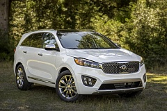 KIA MOTORS AMERICA - The 2016 Kia Sorento is larger but still stylish.