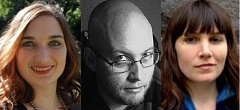 SUBMITTED PHOTOS - Hannah Gildea, Trevor Dodge and Margaret Malone will be reading 7 p.m. on Wednesday, Aug. 5, at the Oregon City Public Library, 606 John Adams St.