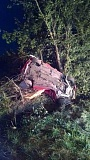 MCSO - One person is dead after their vehicle left the road west of Woodburn Monday night.