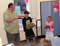 Richard Ritchey, the Reptile Man, will be back in Canby Friday, Aug. 7.