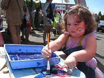 PHOTO COURTESY OF MULTNOMAH ARTS CENTER - Kids can get creative at Kids Zone, located in the Multnomah Arts Center during Multnomah Days.