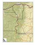 CONTRIBUTED PHOTO: LSC TRANSPORTATION - Map shows three potential counties Mt. Hood Express could travel to.