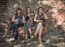 COURTESY PHOTOS - Starring at Pickathon, the Quebe Sisters bring country swing from Texas and Summer Cannibals  serve up hot rock n roll right here in Portland.