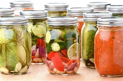 SUBMITTED PHOTO - You can learn to preserve foods from the garden by taking OSU Extension Service food preservation classes.