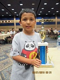 SUBMITTED PHOTO - Alexandre Boyce brought home gold from the Las Vegas International Chess Festival.