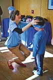 PHOTO COURTESY OF LEGACY HEALTH  - Children can get fitted for bike helmets at the Legacy Family Wellness Fair Aug. 8 in Portland.