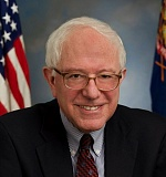 COUTESY U.S. SEN. SANDERS OFFICE - Vermont US Sen. Bernie Sanders is scheduled to appear at the Veterans Memoral Coliseum on Saturday.