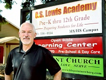 SETH GORDON - New leadership - Michael Wenger begins his new role as the lead administrator and secondary principal at C.S. Lewis Academy this week. After seven years in California, Wenger said he felt 'called home' to Oregon last year.