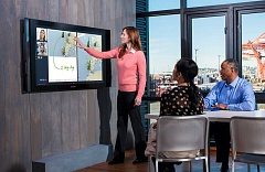 SUBMITTED PHOTO - Microsoft began accepting orders for its Surface Hub device on July 1, and says that it will start shipping the device this fall.