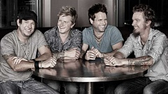 CONTRIBUTED PHOTO - Parmalee, comprised of four musicians who grew up in North Carolina, will perform their country hits at the Crook County Fair on Friday.