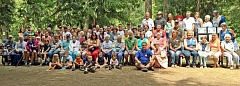 About 85 members of the Feyrer extended family turned out for the 2015 reunion held at Feyrer Park.