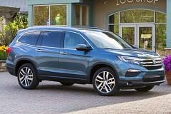 AMERICAN HONDA MOTOR COMPANY - The redesigned 2016 Honda Pilot has shaken off its boxy styling for a fresh, contemporary look.