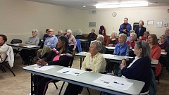 SUBMITTED PHOTO - Members of the Lake Oswego Adult Community Centers Learning and Technology group work on keep their minds active.