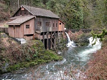 SUBMITTED PHOTO  - The West Linn Adult Community Center is sponsoring a bus trip to the Cedar Creek Grist Mill on Aug. 26.