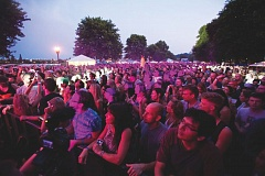 COURTESY PHOTO: MUSICFESTNW - Last year marked the first time MusicFest NW moved from a club format to an open-air concert format at Waterfront Park. This photo shows the 2014 crowd enjoying an act.