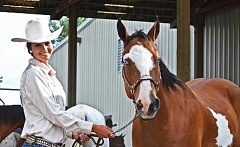 CONTRIBUTED PHOTO - The Crook County 4-H Horse Fair gives members a chance to showcase their horses.