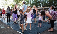 TIMES FILE PHOTO - The City of Beavertons final Last Tuesday summer concert series always brings out peoples best dance moves. The final concert, at The Round (12600 S.W. Crescent Street adjacent to the Beaverton Central light rail station) is due from 5:30 to 8 p.m. Tuesday, Aug. 25.