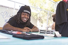 TIMES PHOTO: JONATHAN HOUSE - Donovan Smith has started his own line of clothing based on his experiences growing up as an African-American in Portland.
