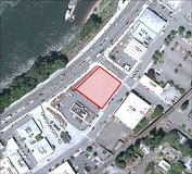 MAP COURTESY: CITY OF OREGON CITY - Mattress Warehouse is buying the site between a KFC Restaurant and Active Water Sports equipment rental.