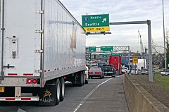 TRIBUNE FILE PHOTO - Traffic congestion in Portland is bad and getting worse, according to recent studies.