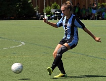 COURTESY: WARNER PACIFIC COLLEGE - Larissa Byrgazova, a junior defender from Wilson High, is one of the mainstays for coach Holly Popenuk at Warner Pacific College.
